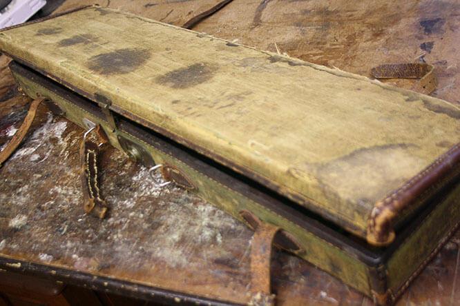 RESTORING A TREASURED GUN BOX 1