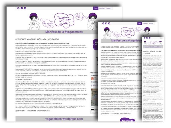 WebApp d'adhesió a la Vaga de Totes