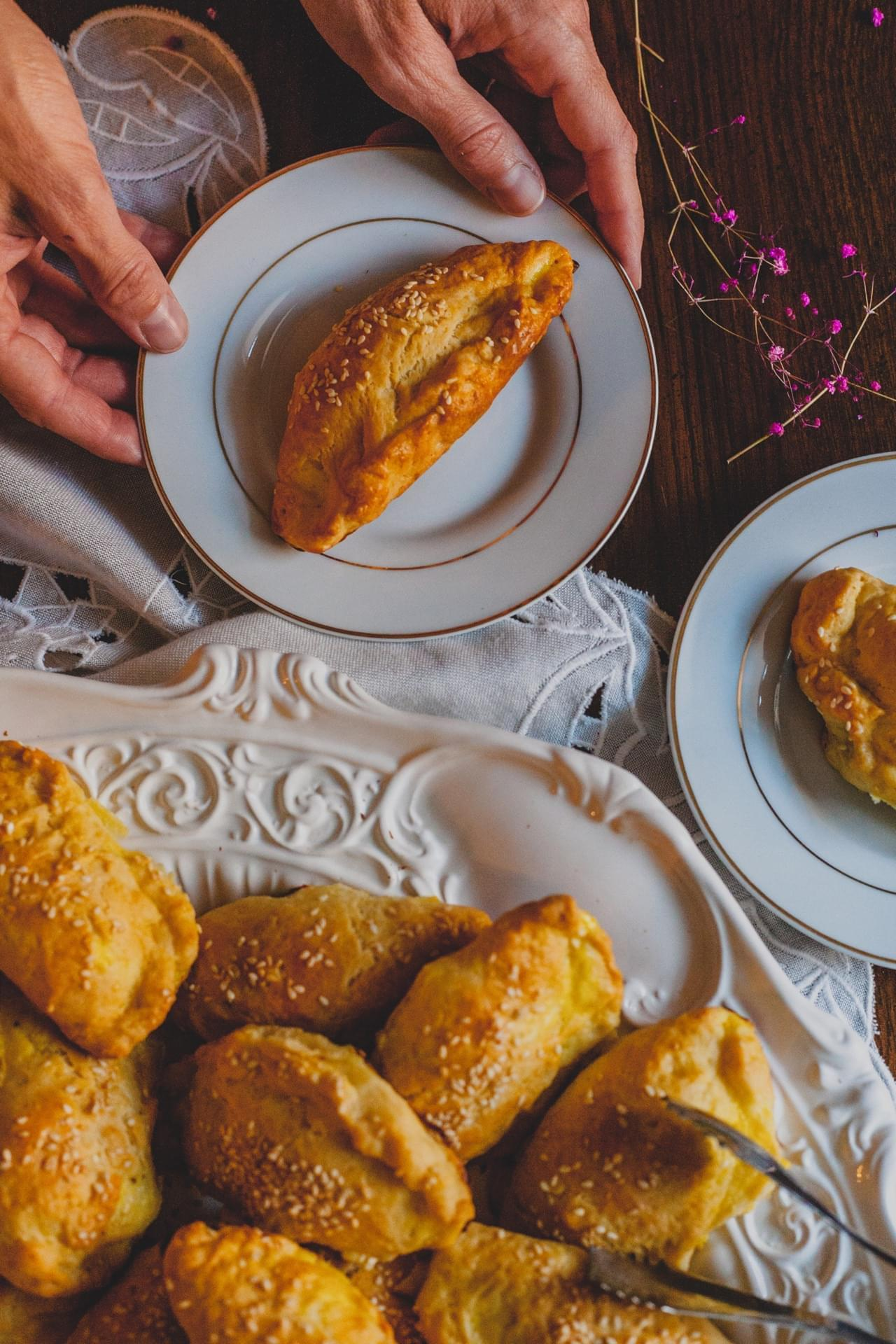 Feta Cheese filled hand pies