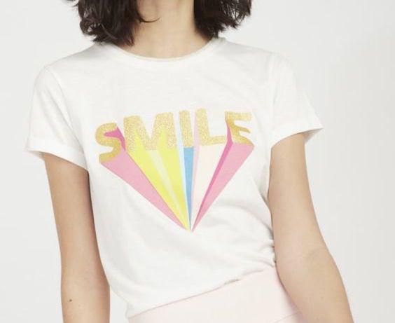 T-shirt Smile à manches courtes