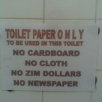 Toilet Paper Only