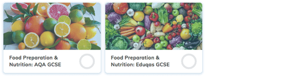 Free GCSE Food Preparation & Nutrition Revision Courses