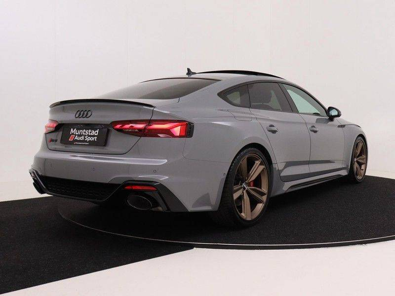 Audi RS5 Sportback 2.9 TFSI quattro | 450PK | Panoramadak | Stoelventilatie/verwarming | Bang & Olufsen | Top view camera | Matrix LED Laser | RS Sportuitlaat | 20'' inch brons | Verlengde fabrieksgarantie afbeelding 9