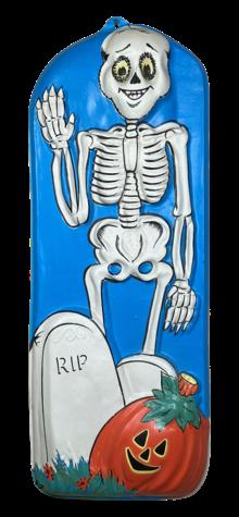 Waving Skeleton photo