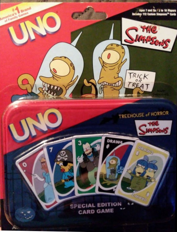 Simpsons: Treehouse of Horror Uno