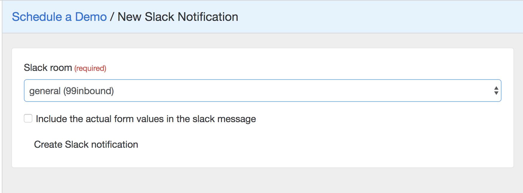 slack configuration