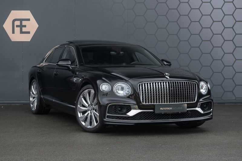Bentley Flying Spur 6.0 W12 FIRST EDITION MY 2021 NAIM + Mulliner + Touring Spec + Head-Up + Bentley Rotating Display + Onyx Pearl / Beluga + Full Option + afbeelding 10