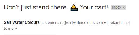 Email subject line emoji