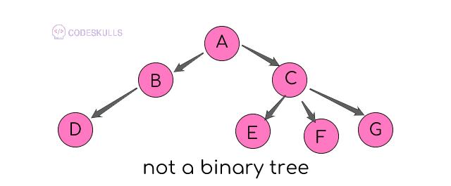 not a binary tree