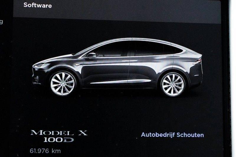 """Tesla Model X 100D Excl. BTW Luchtvering, Autopilot Leer 4% bijt. 22"""" afbeelding 21"""