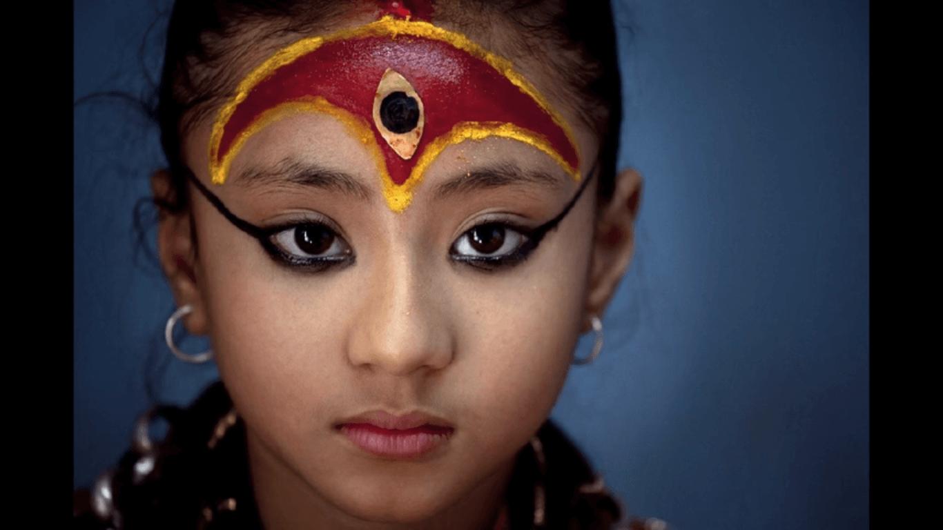 Kumari - Living Goddess of Nepal - Samita Bajracharya