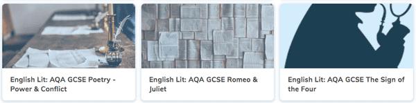 Free GCSE English Literature Revision Courses