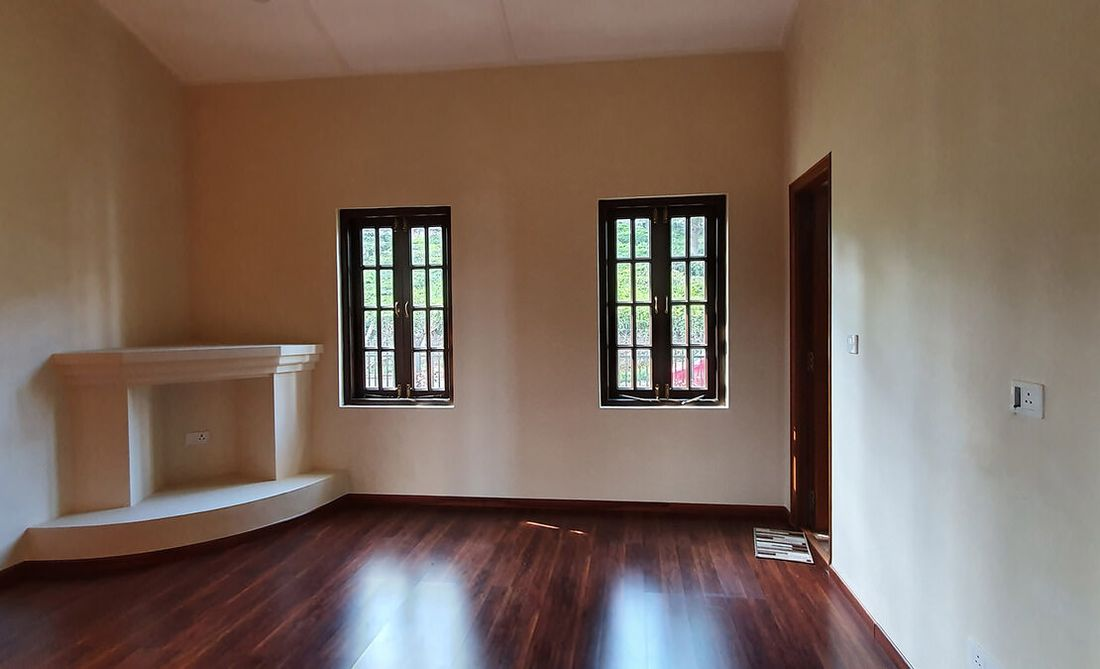 Master bedroom of the house