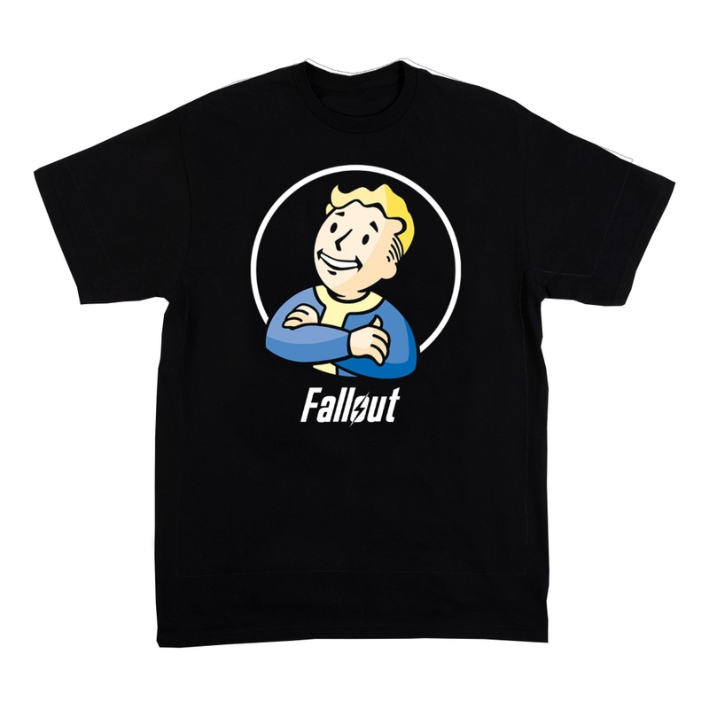 Men's Fallout Boy Logo Specialty Soft Hand Print Shirt