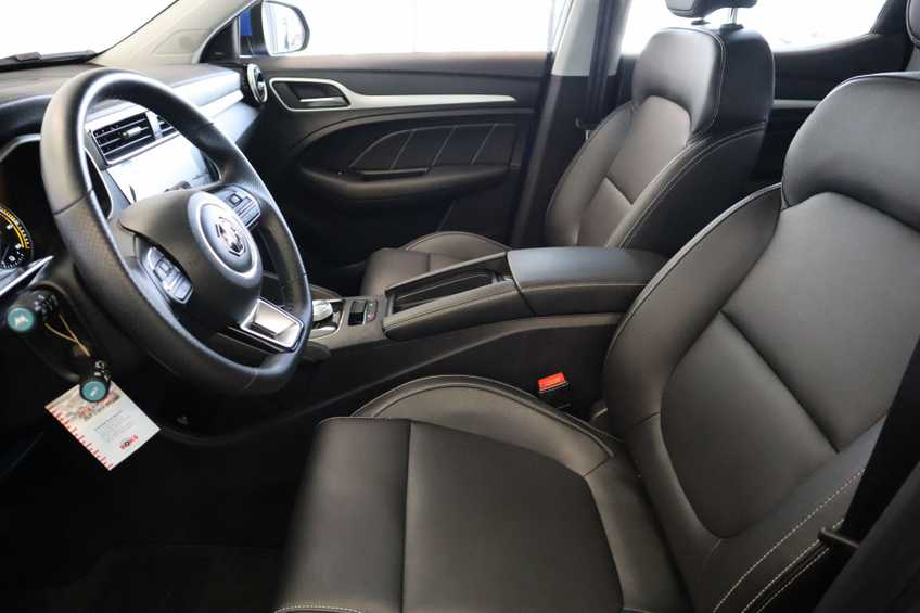 MG ZS EV Luxury 8% Bijtelling Leder Panoramadak Navigatie Cruise LM afbeelding 15