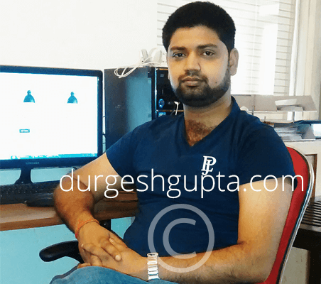 Durgesh Gupta - Web Designer and Marketer