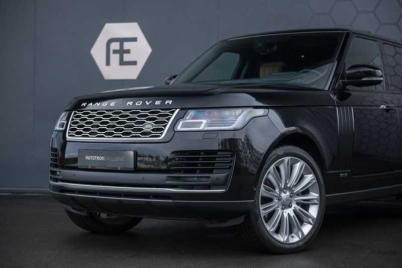 Land Rover Range Rover 5.0 V8 SC LWB Autobiography Rear Seat Entertainment + Head Up + 360 Camera + ACC afbeelding 12