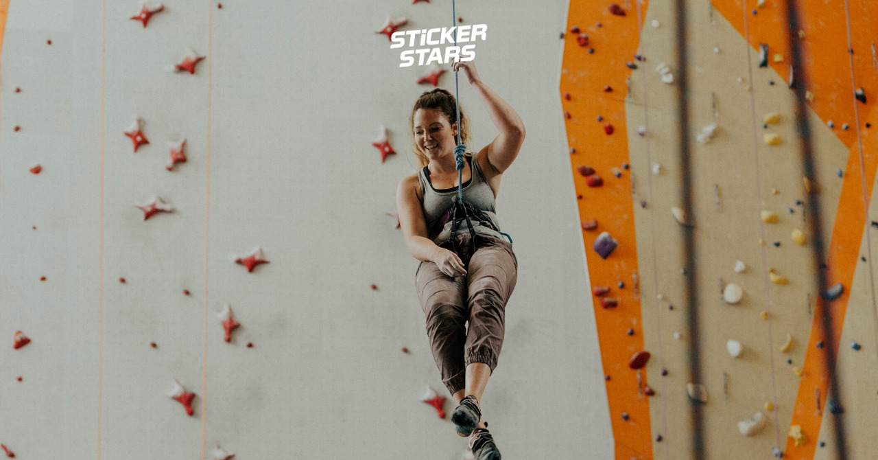 Teamevent Ideen: Gemeinsam klettern gehen.