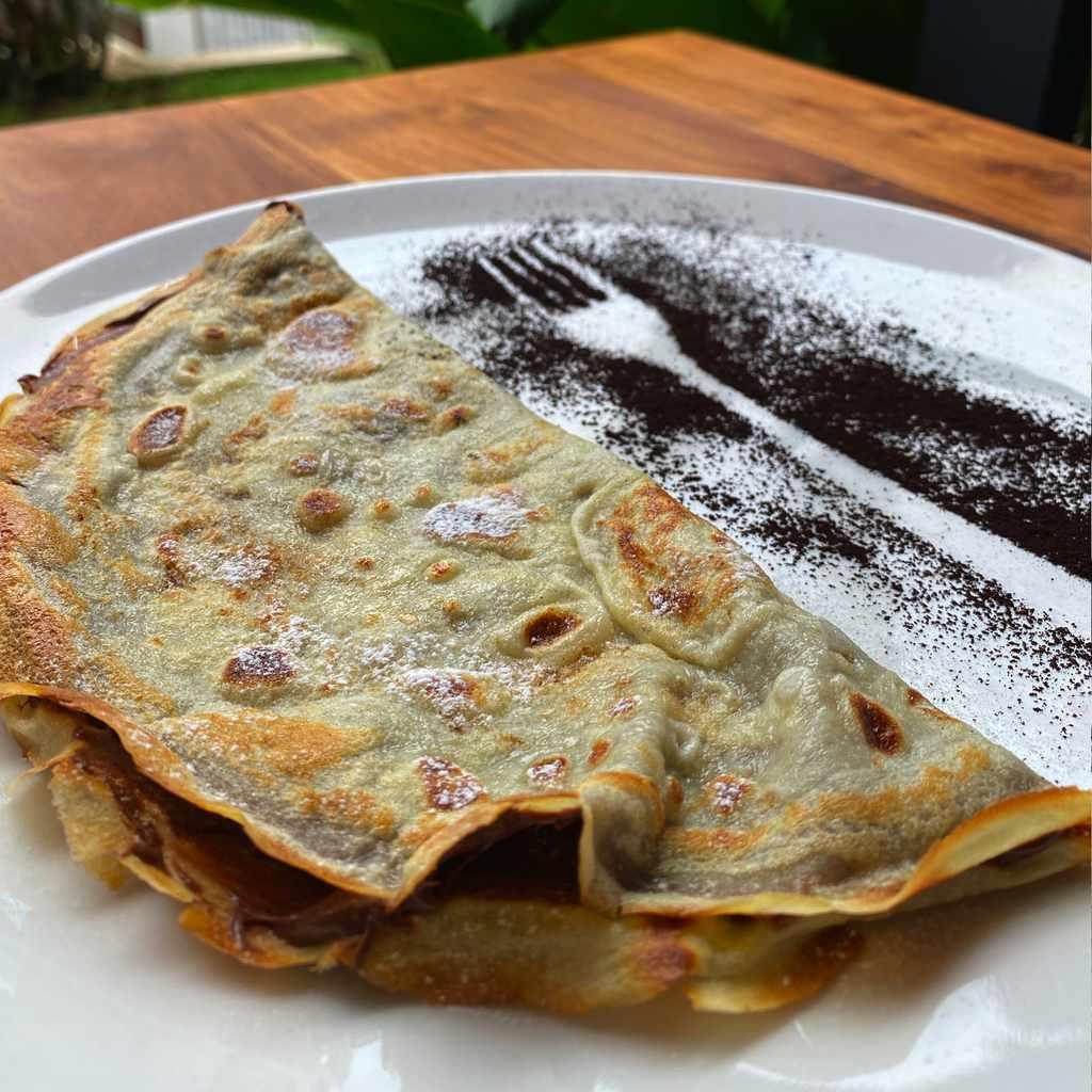 breakfast: crepes nutella