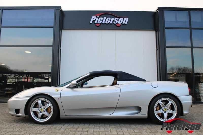 Ferrari 360 3.6 V8 Spider F1 Automaat Leder *Nette staat* afbeelding 5