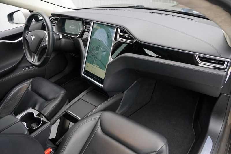 "Tesla Model S 90D Base / 422 PK / Panoramadak / Luchtvering / NL-Auto / 132dkm NAP / 21"" LMV / Leder afbeelding 15"