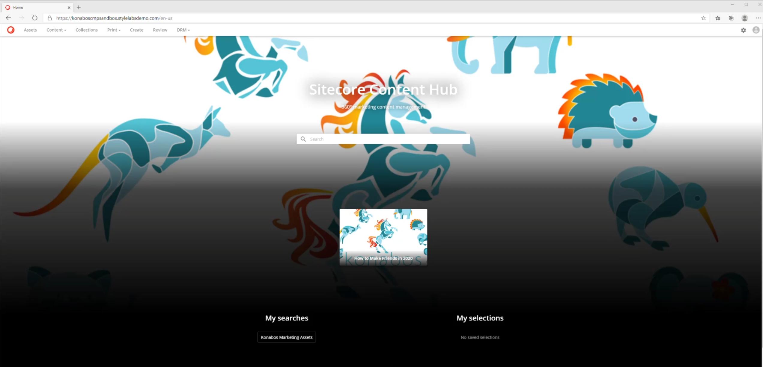 Sitecore Content Hub - Content Marketing Platform – CMP - Walkthrough