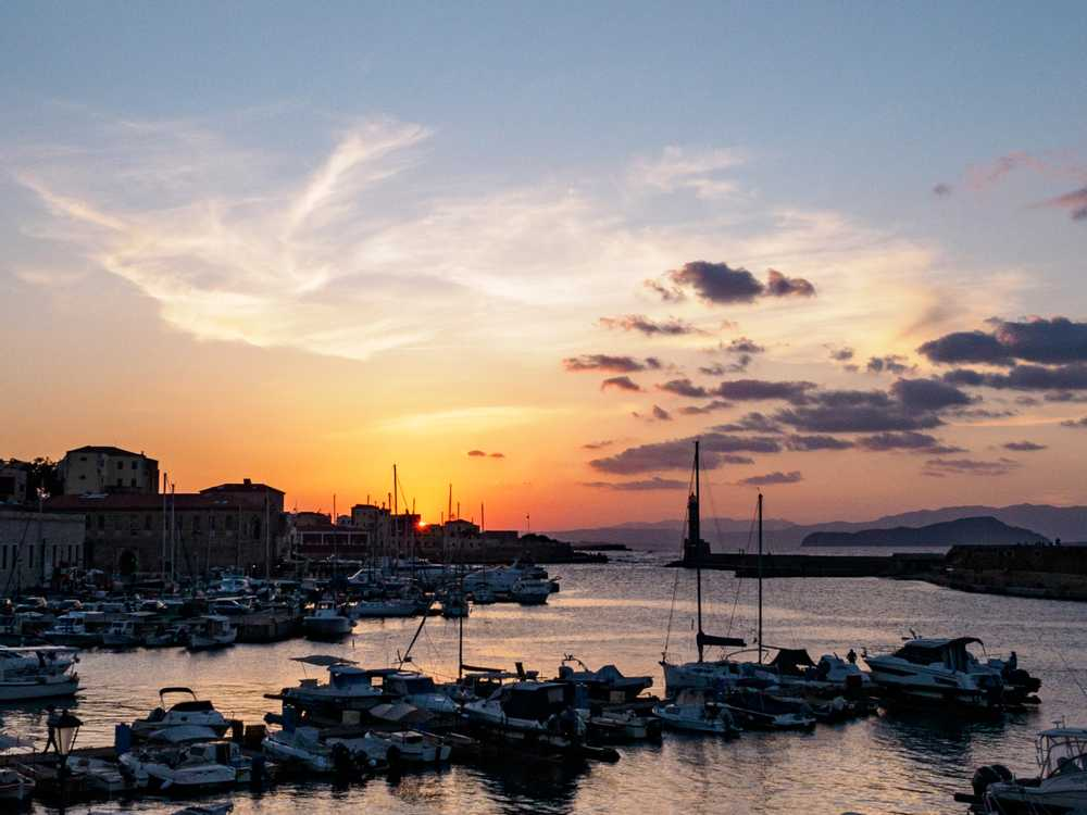 Sunset, Chania, Crete