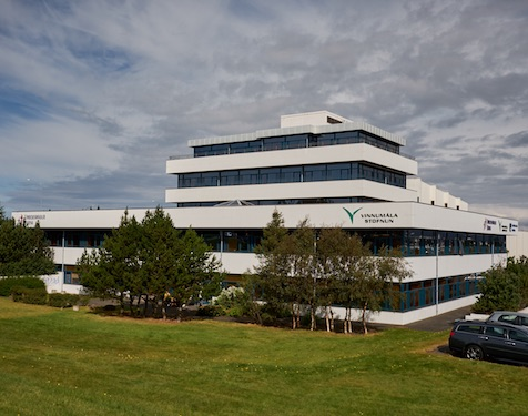 Photo of our office building at Kringlan 1, Reykjavik