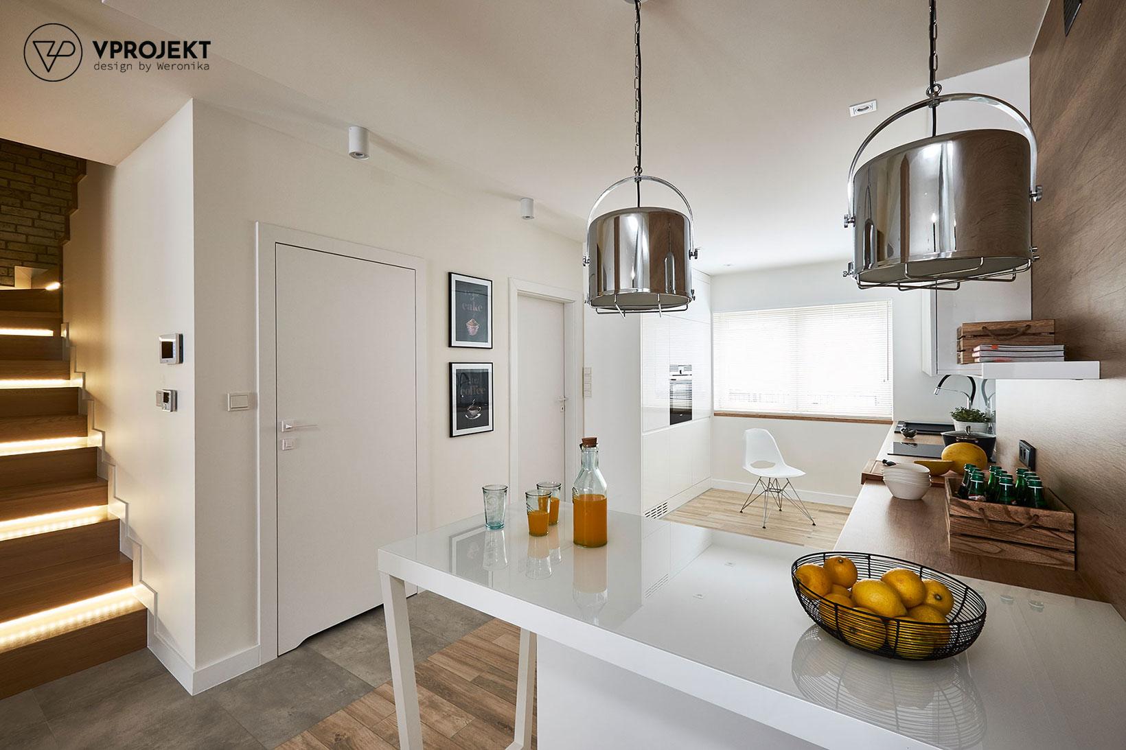 Kuchnia, dom w Ostródzie