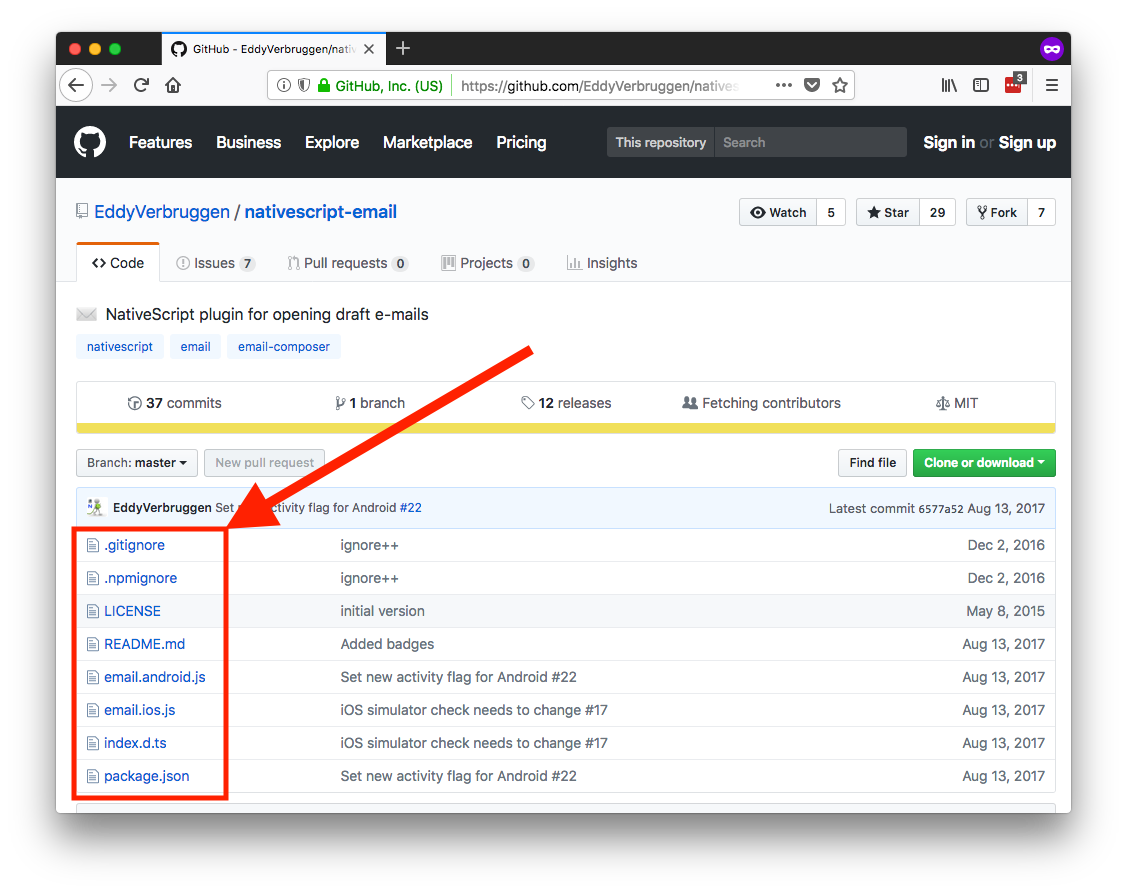Using Plugins in NativeScript Playground