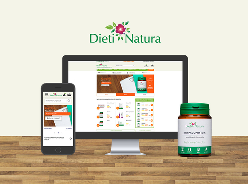 Refonte de la boutique Dieti Natura