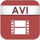 Das Dateisymbol einer AVI-Datei, das stellvertretend für Video-Dateiformate steht, einer Beispielkategorie für Digitale Assets.