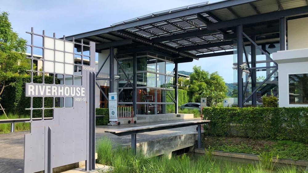 RiverHouse Phuket Main Entrance
