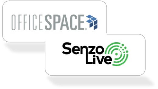 SenzoLive Workplace Occupancy Analytics Solution Now Integrated with OfficeSpace IWMS to Help Employees Find Free Work Desks