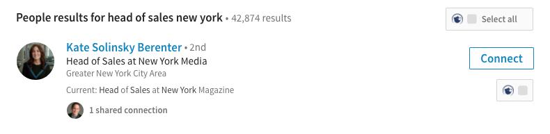 Interseller LinkedIn Sidebar