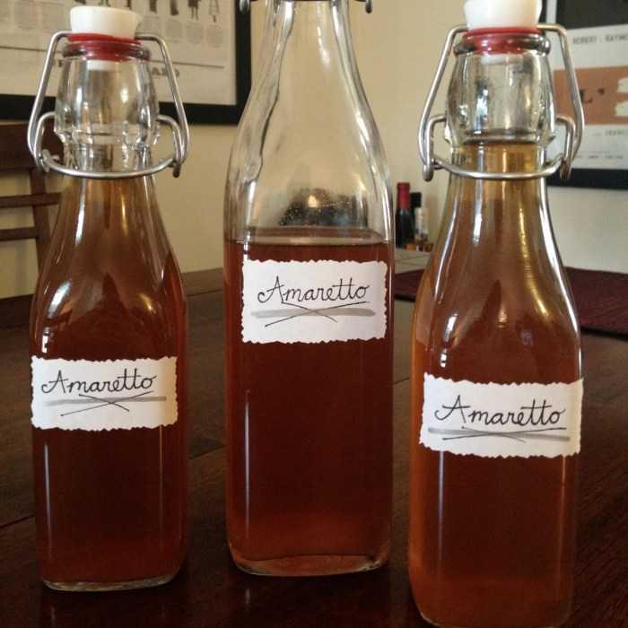 Amaretto Liqueur Cocktail