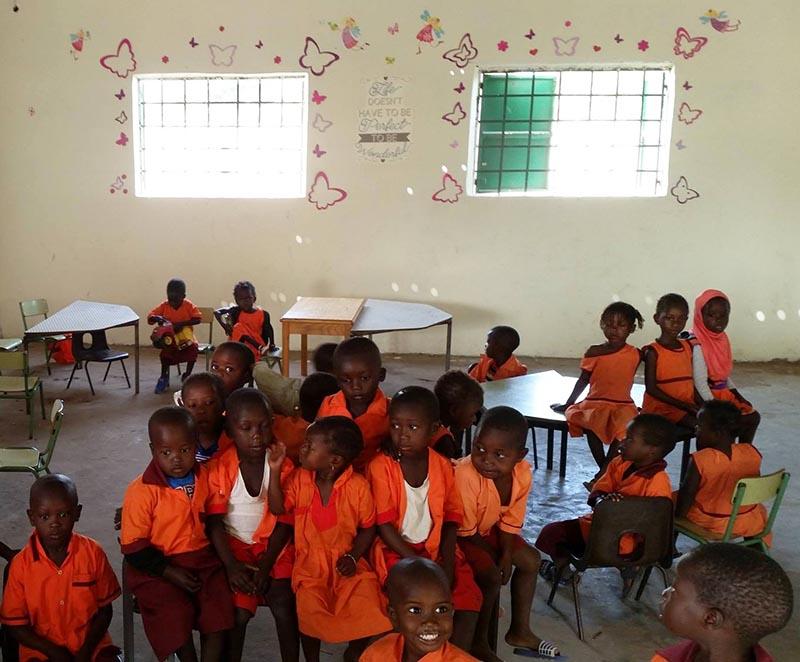 Kleuterschool Gambia