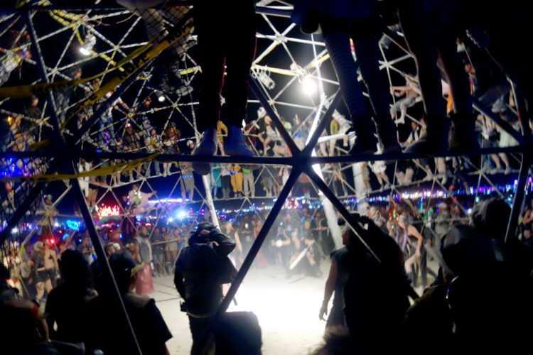 Burning Man Thunderdome