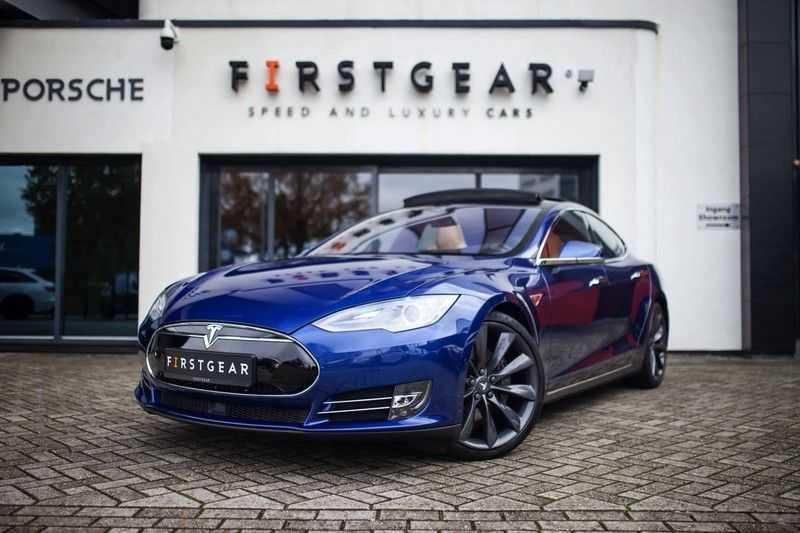 """Tesla Model S 85D Base *Pano / 21"""" / Prijs ex. BTW* afbeelding 1"""