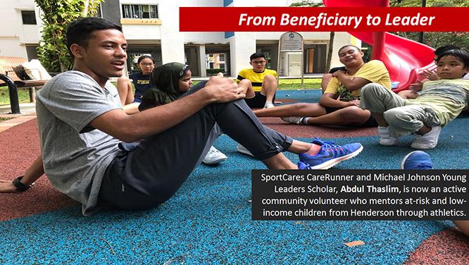 Abdul Thaslim SportCares Runner