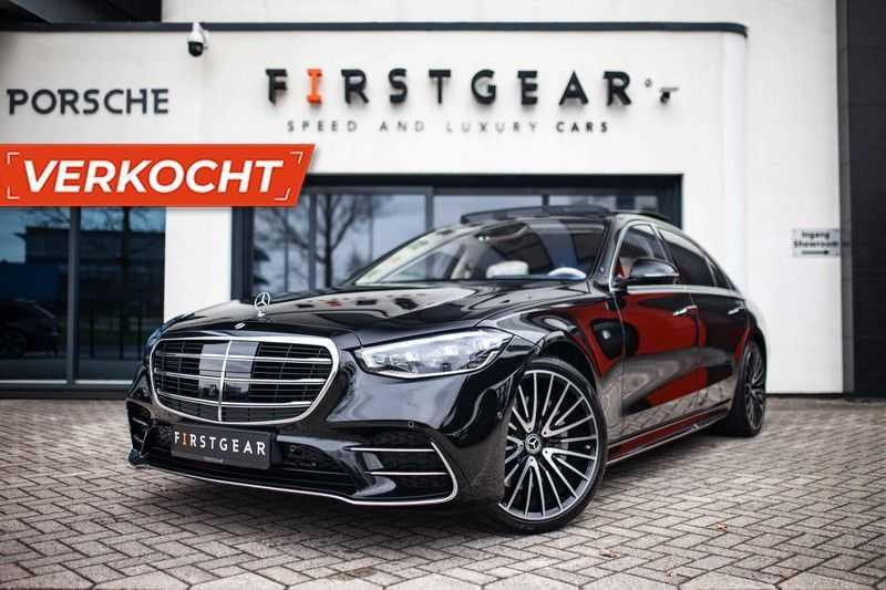 "Mercedes-Benz S-Klasse 500 4Matic Lang AMG *Pano / 3D Burmester / HUD / Distronic / 21"" / 3D Display* afbeelding 25"