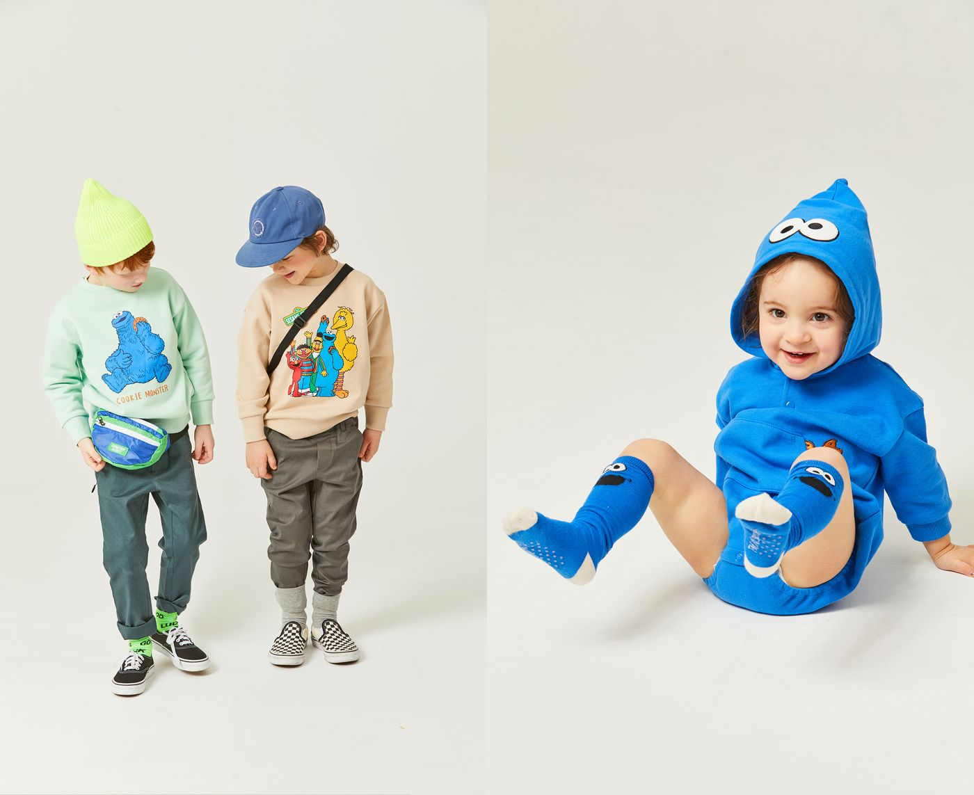 Sesame Street Kids Apparel Collection