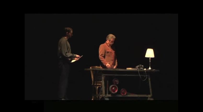 processo e morte di stalin - video teatro