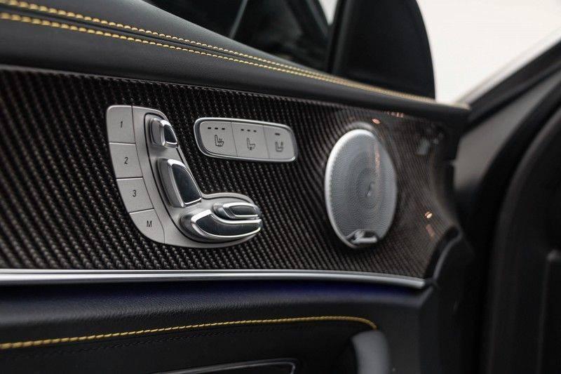 "Mercedes-Benz E-Klasse E63s AMG EDITION 1 4Matic 612pk (MAGNO MAT) Panoramadak Distronic Nightpakket Schaalstoelen Burmester Carbon ComandOnline Keyless 20"" Parktronic Pdc afbeelding 15"