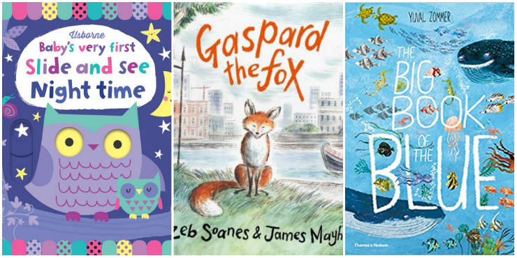 Baby's Very First Slide and See Night Time, Gaspard the Fox, The Big Book of the Blue