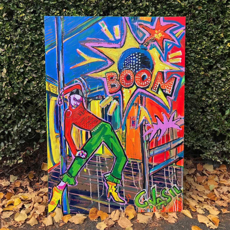 'Boom' Original Painting