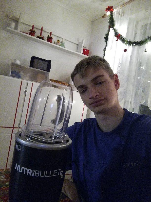 Poděkování za kuchyňský mixér