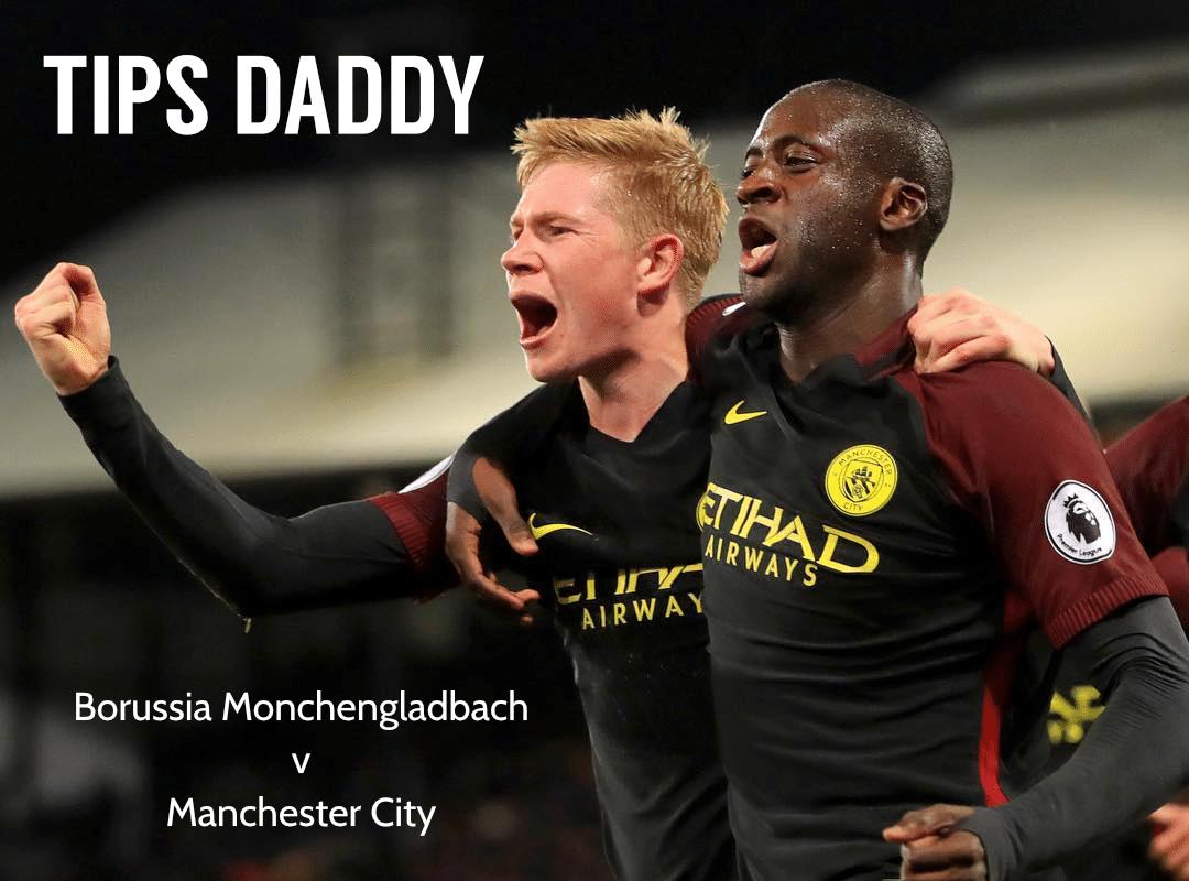 Borussia Monchengladbach v Manchester City Betting Tips