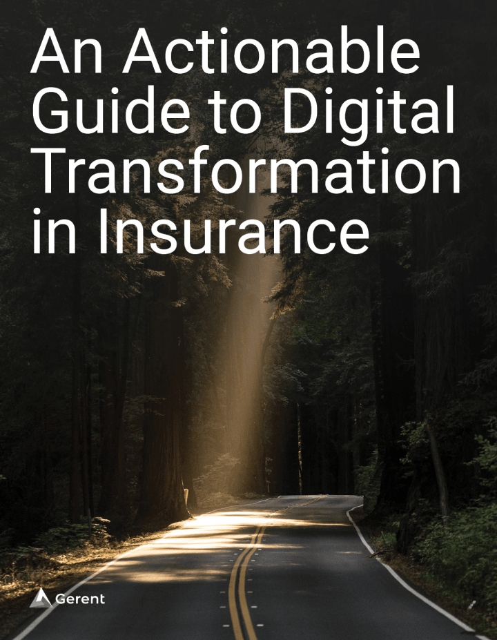 An Actionable Guide to Digital Transformation in Insurance Cover
