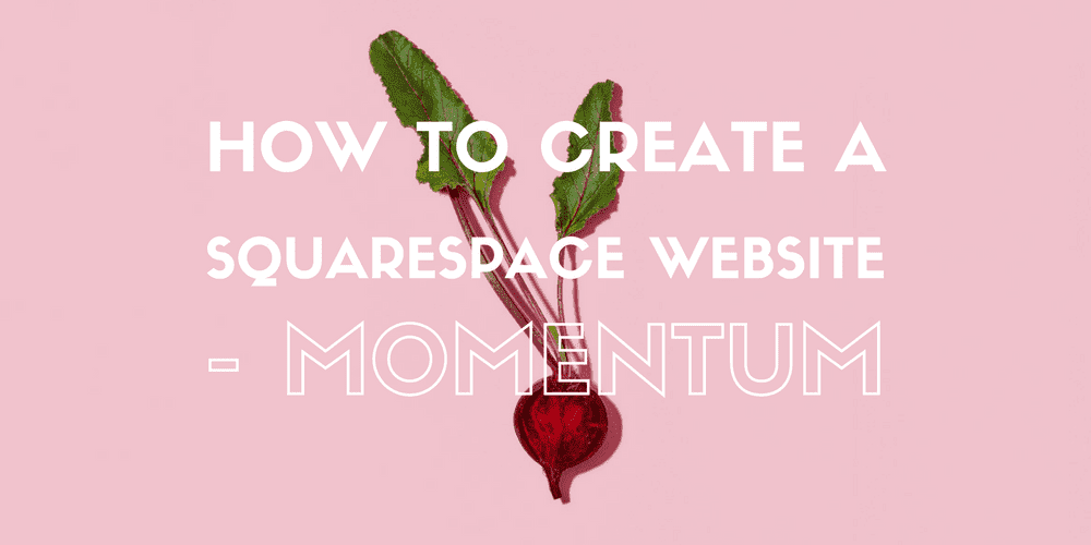 How to create a Squarespace Website